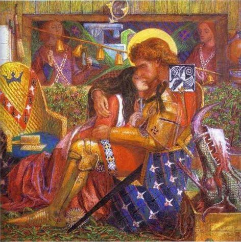 Rossetti Dante Gabriel-The Wedding of St George and Princes