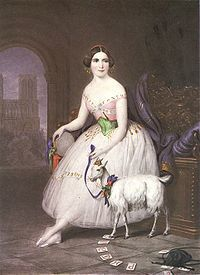 Esmeralda -Fanny Cerrito -London -1844