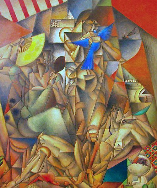Jean Metzinger - L'oiseau bleu - 1913