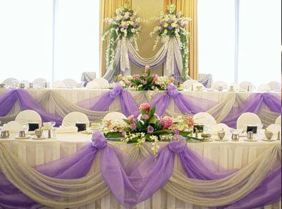 decoration mariage avec tulle