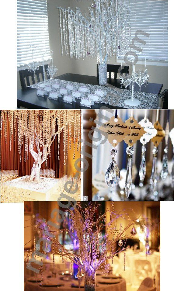 arbre diamants pour deco de mariage d coration de mariage bapt me et communion. Black Bedroom Furniture Sets. Home Design Ideas