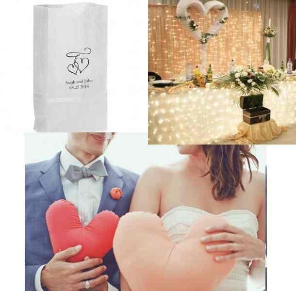 Deco de mariage avec des coeurs d coration de mariage bapt me et communion for Article decoration mariage