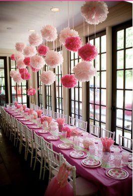 Fleurs de papier pour d coration de mariage ou de bapteme for Decoration en papier
