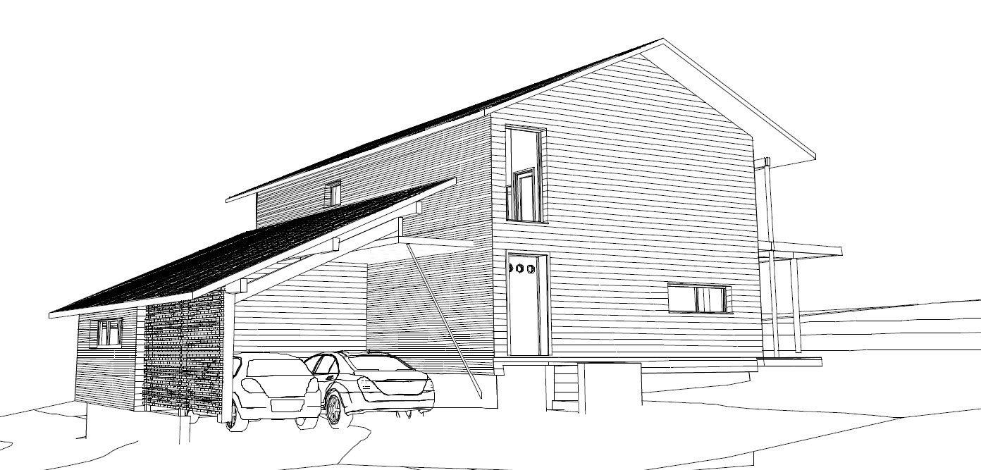 Garage extension changement de plans construction for Garage extension plans