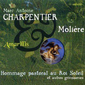 marc-antoine charpentier moliere hommage pastoral amarillis