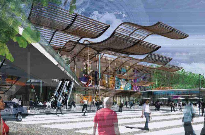 9b0377674d7 Ce qu il faut retenir du nouveau centre commercial Carré de soie à Lyon