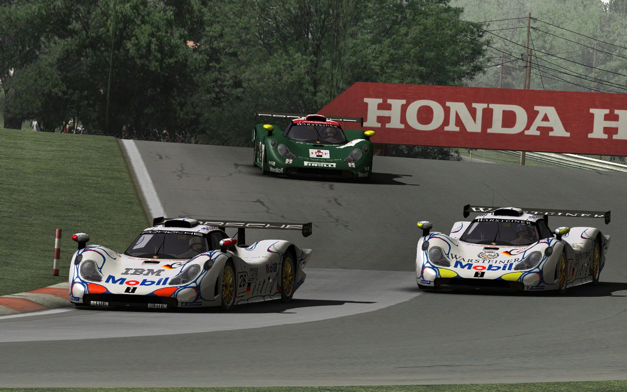 rfactor mod porsche 911 gt1 the racing line. Black Bedroom Furniture Sets. Home Design Ideas
