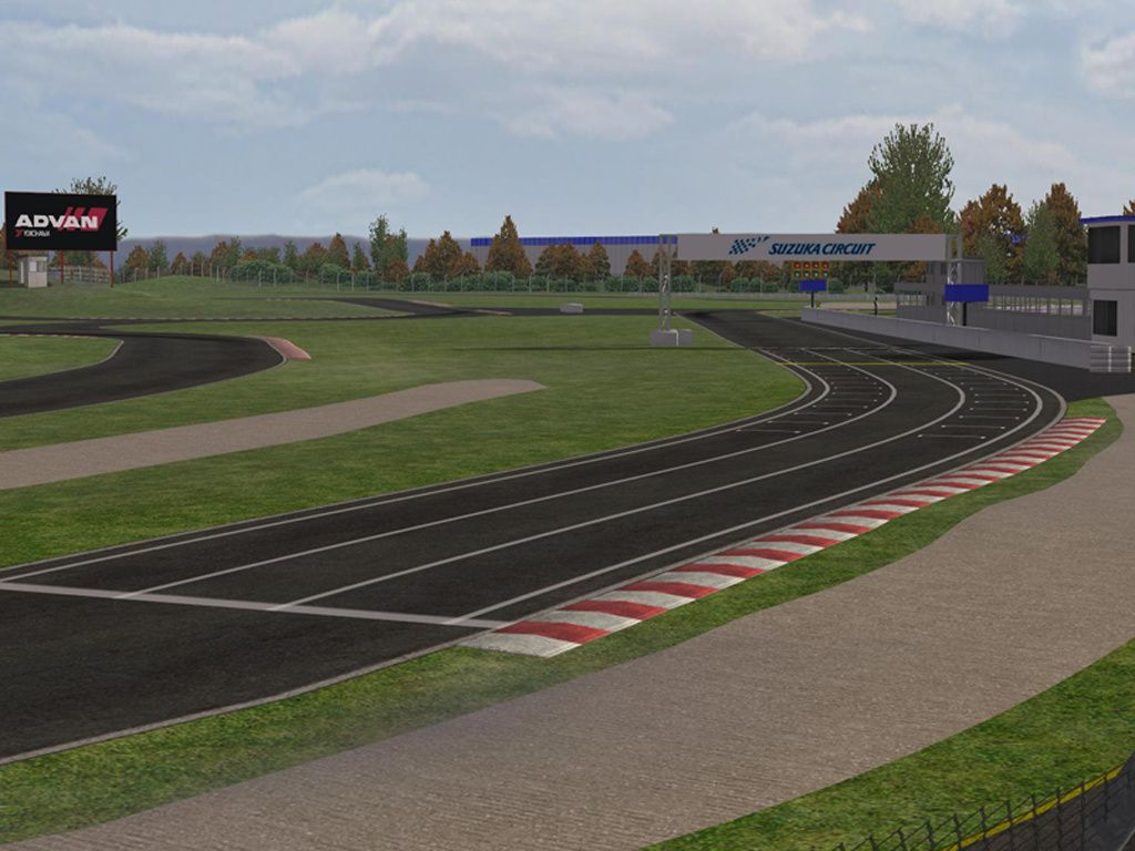 rfactor circuit suzuka sourth course kart the racing line. Black Bedroom Furniture Sets. Home Design Ideas