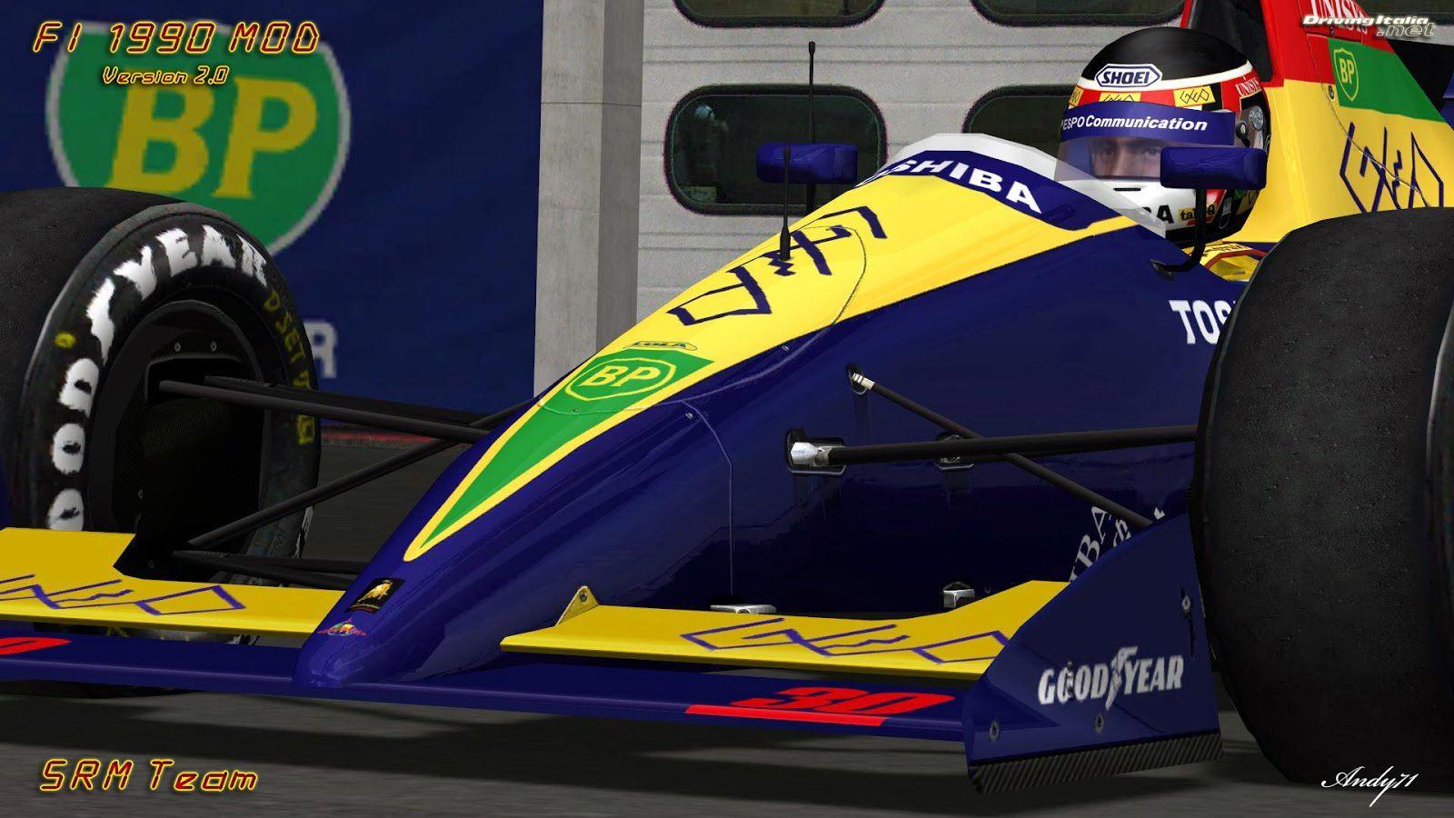 rFactor Mod F1 1990 2 0 disponible ! - The Racing Line