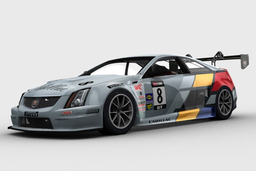 une cadillac cts v coupe pour iracing the racing line. Black Bedroom Furniture Sets. Home Design Ideas