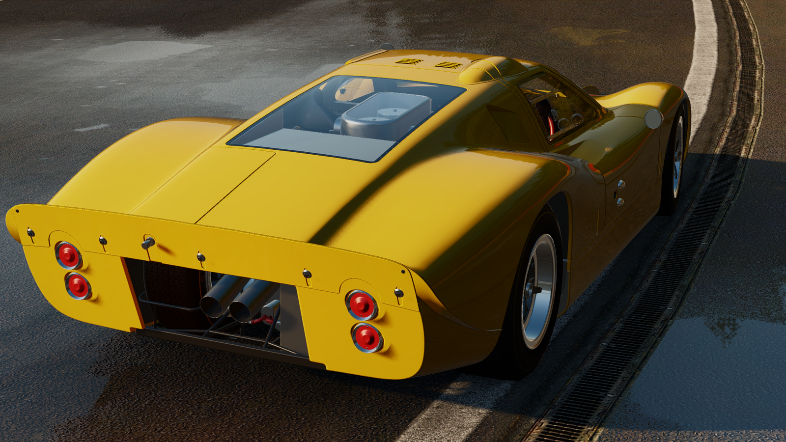 la ford gt40 mk iv d barque dans project cars the racing. Black Bedroom Furniture Sets. Home Design Ideas