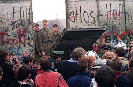 Chute mur de Berlin