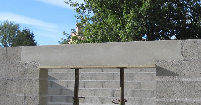 Charming joint de construction beton 4 garage - Construction garage prefabrique beton ...