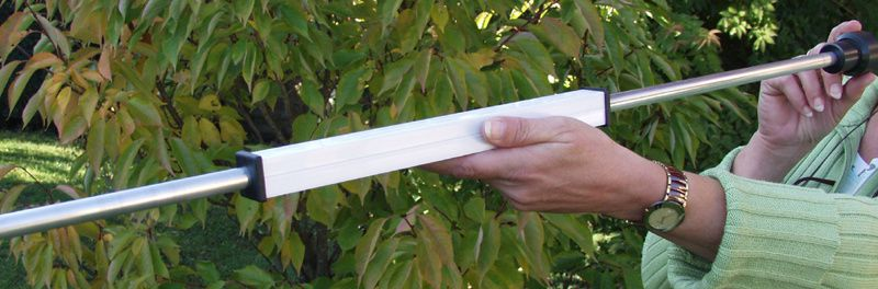 Fabrication d 39 une sarbacane le blog de richard 68 - Profile alu en u leroy merlin ...