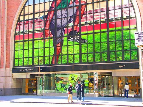 "ny_niketown_on_west_57th_4_137 NIKETOWN NEW YORK : ""If you have a body, you're an athlete"""