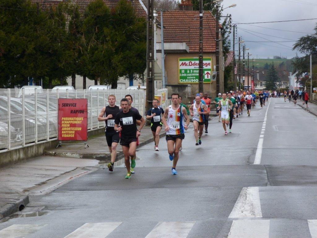 Album - Boucles de la Saône 2012 - 10km  - 21 km