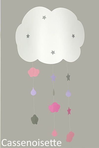 luminaires enfant applique nuage lampe chambre b b. Black Bedroom Furniture Sets. Home Design Ideas