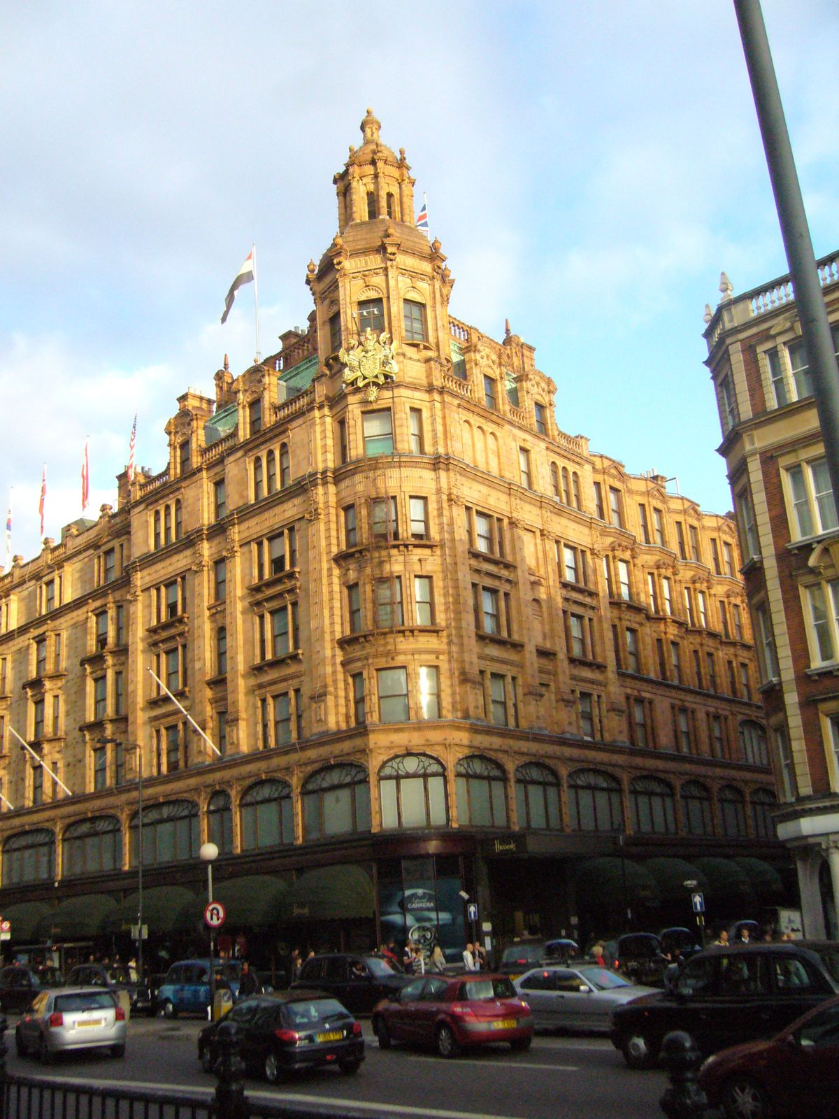 Harrods london city - Quartier chic de londres ...