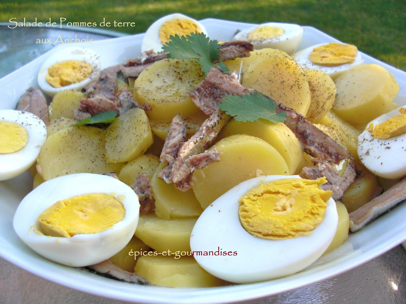 salade de pommes de terre aux anchois pices et gourmandises le blog de mariellen. Black Bedroom Furniture Sets. Home Design Ideas