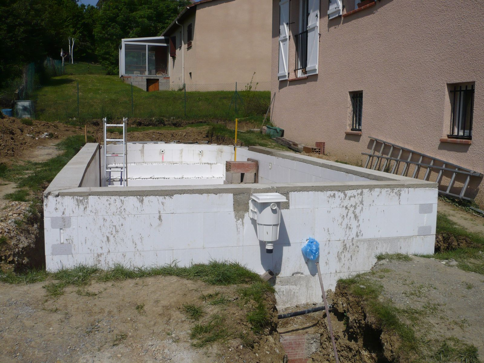 les arases construction piscine