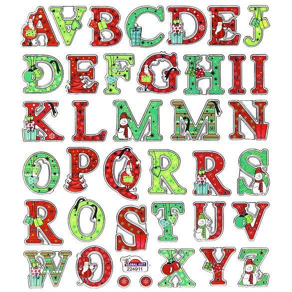 Alphabet Noel abécédaire de noël - le blog de vegas-sur-sarthe