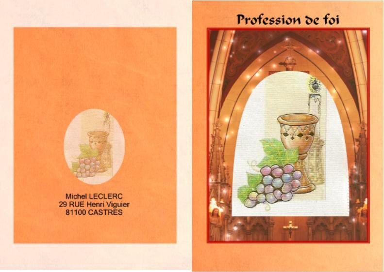Favori cartes ceremonies - Lespace-dune-Lettre ZT97