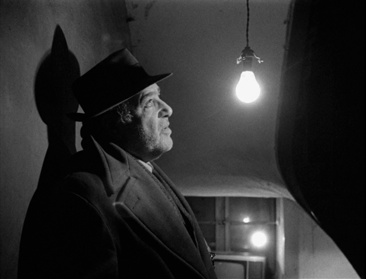 Image result for images of akim tamiroff from ALPHAVILLE