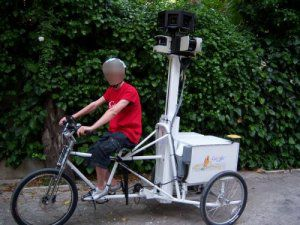 Photo d'un tricycle Google Street View