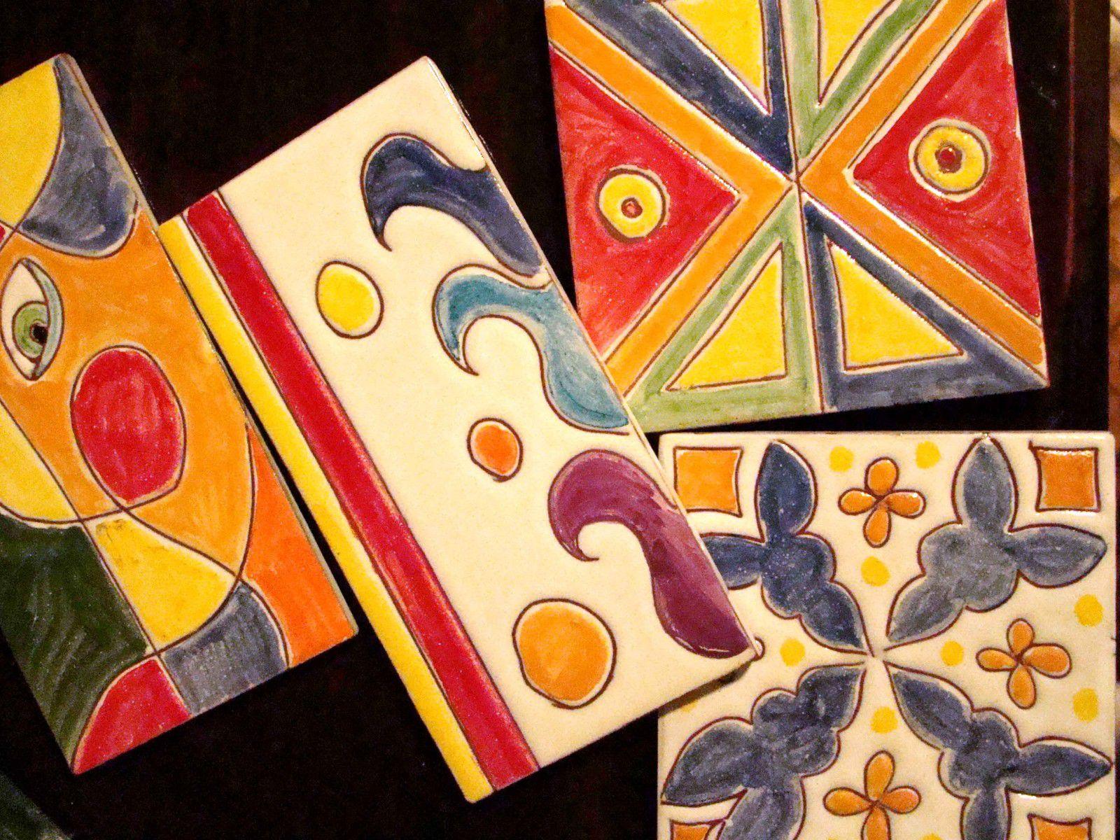 Azulejos l nea colores si los quer s los ten s for Azulejos estilo mexicano