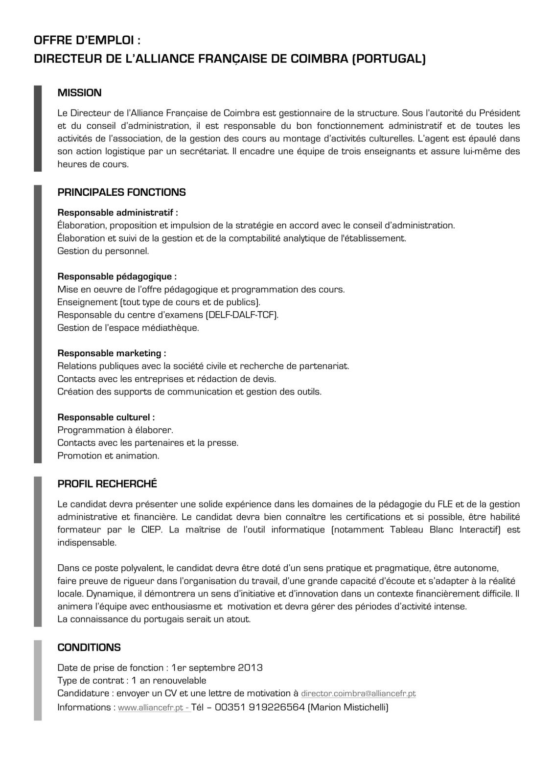 Exemple lettre de motivation key account manager document online - Offre d emploi office manager ile de france ...