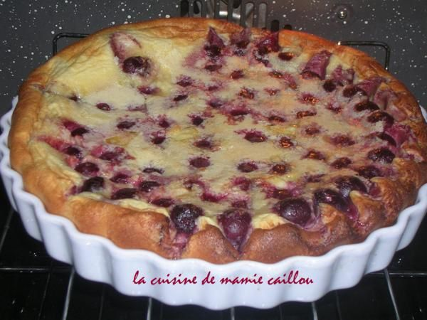 Blog de mariecaillou :LA CUISINE DE MAMIE CAILLOU, envie de Clafoutis...