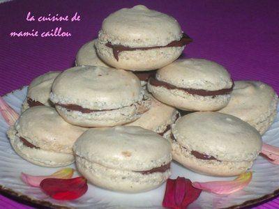 Blog de mariecaillou :LA CUISINE DE MAMIE CAILLOU, Les MACARONS...suite.