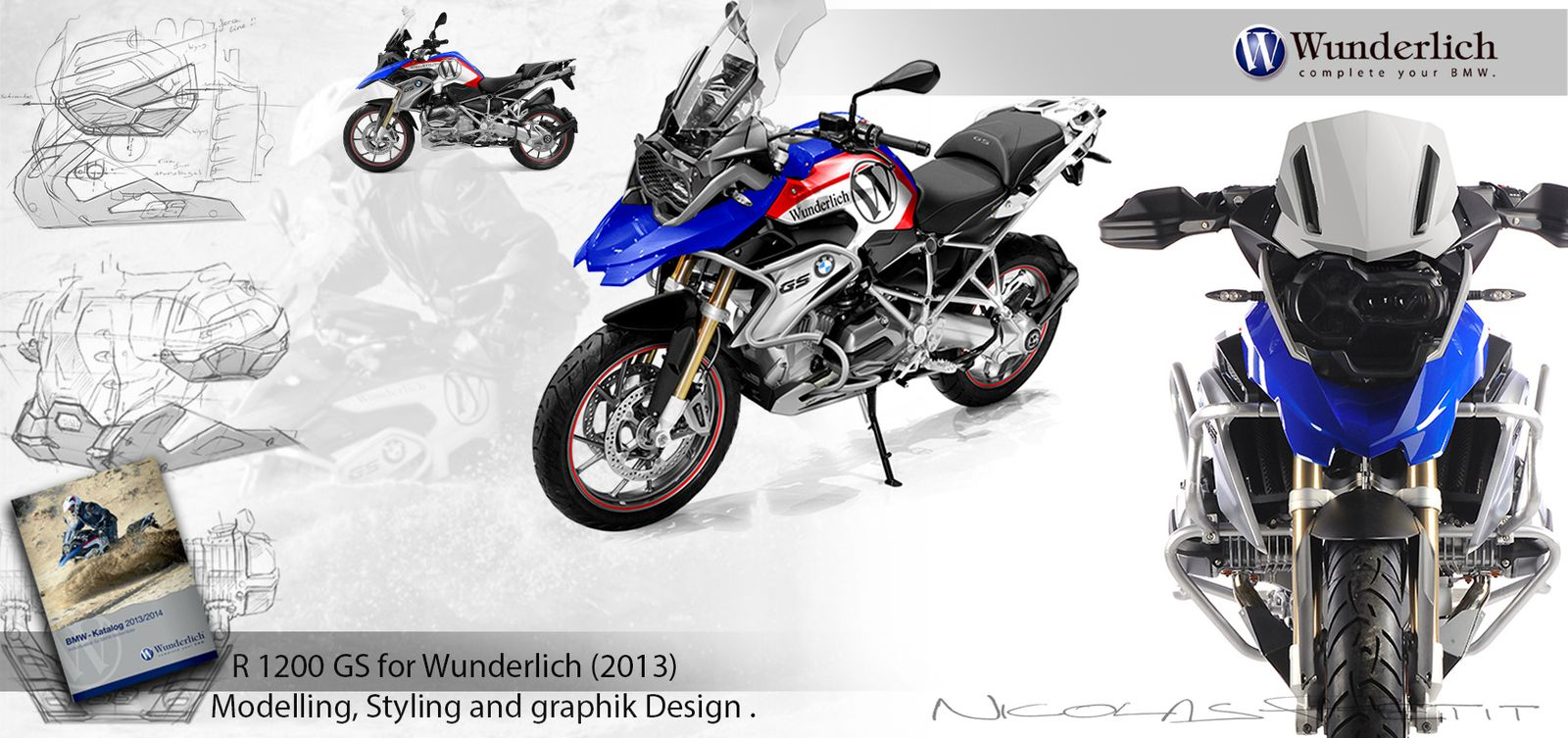 Accessories for r1200gs water cooled nicolas petit for Gs decorating