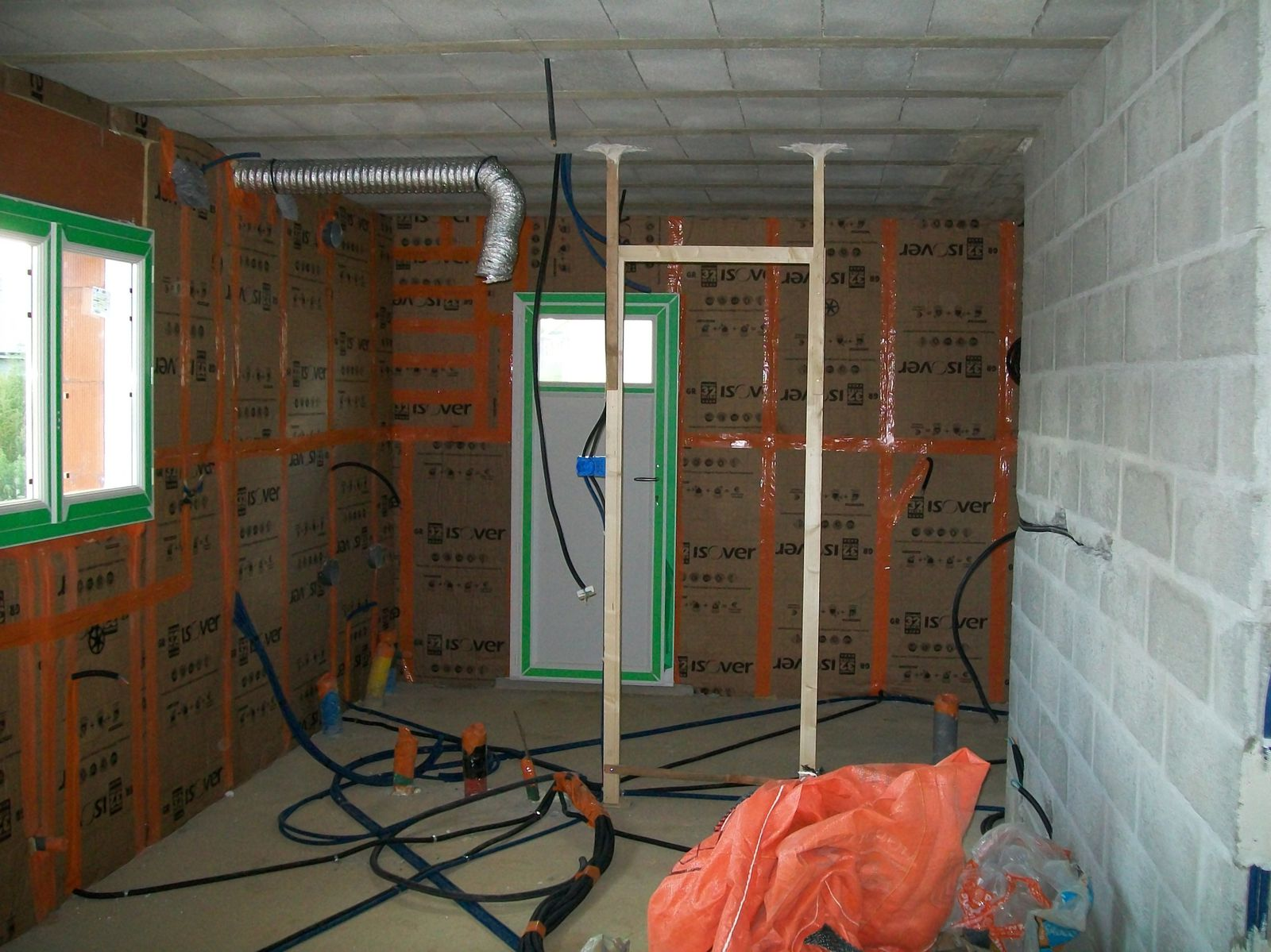 les travaux d 39 lectricit suivi de chantier maison ty breiz. Black Bedroom Furniture Sets. Home Design Ideas