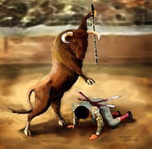 Anti bullfighting c Larry Torro 02