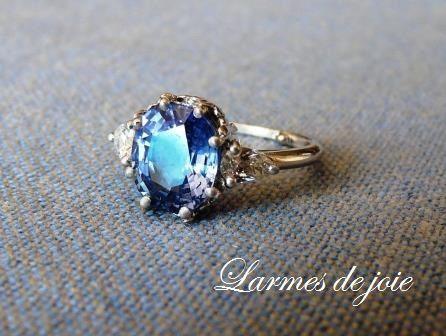 2014 saphir diamants poire