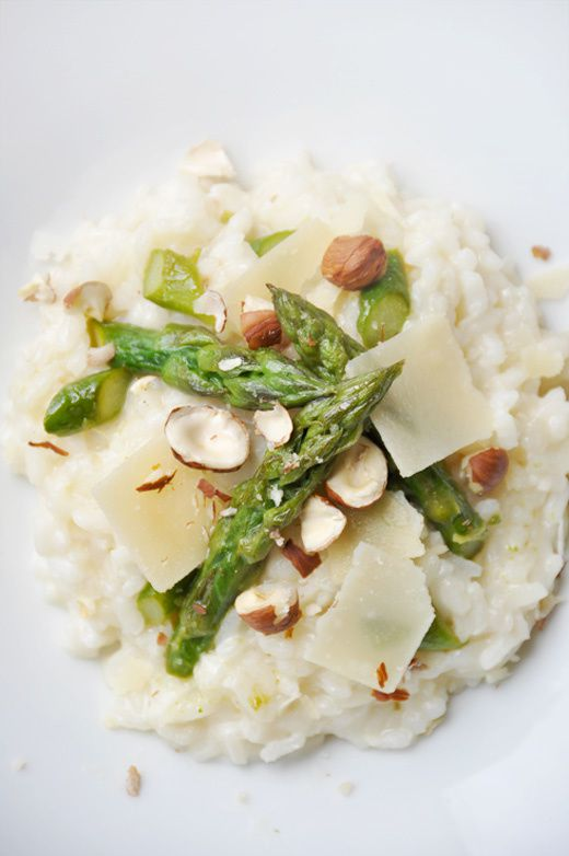 Risotto asperges vertes