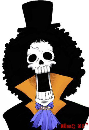 One piece brook mangas amy - Comment dessiner luffy ...