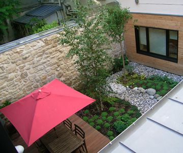 Les patios un coin de nature comment l 39 am nager for Amenagement jardin petite surface