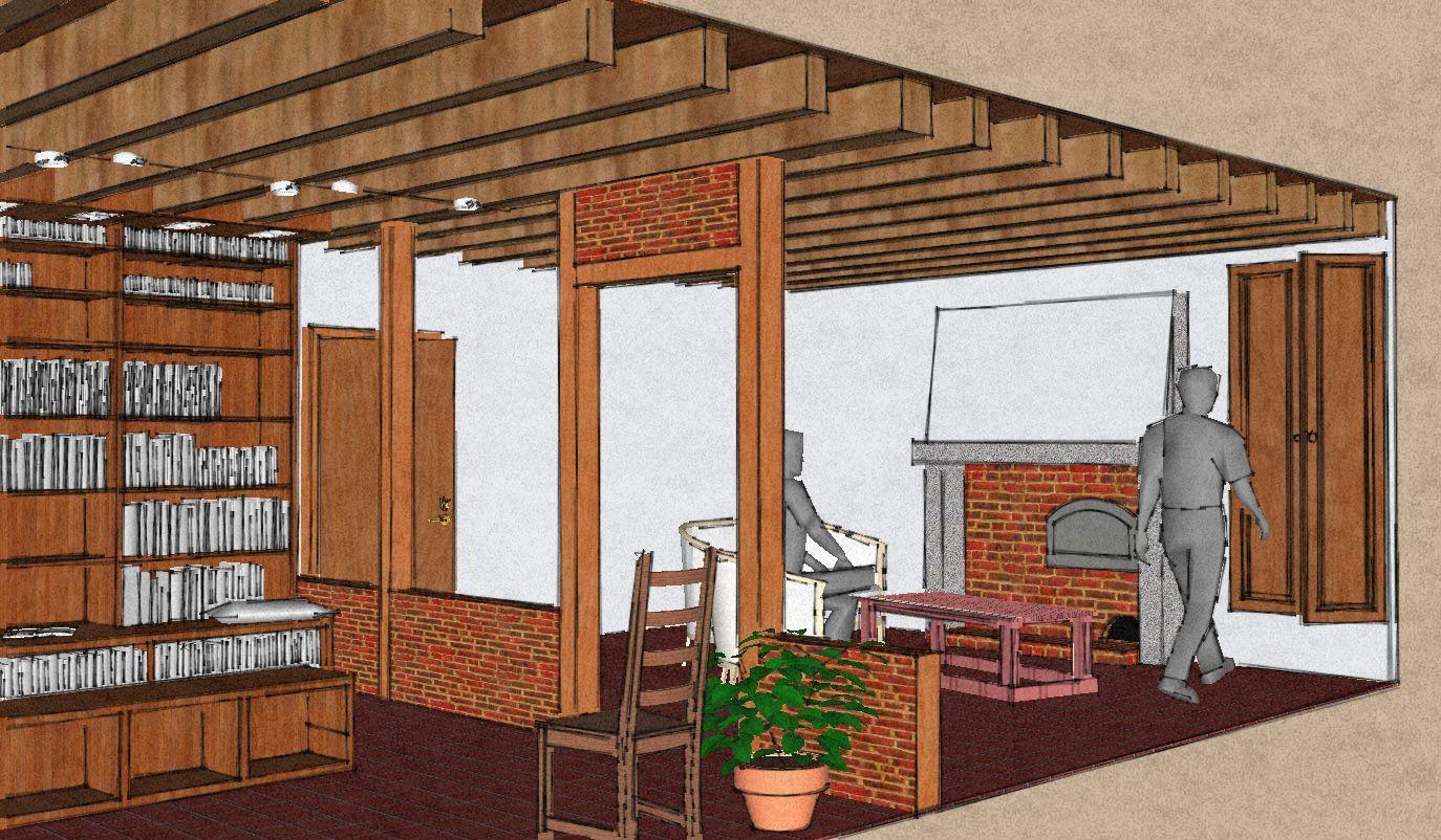 am nagement d 39 une biblioth que terra nullius. Black Bedroom Furniture Sets. Home Design Ideas