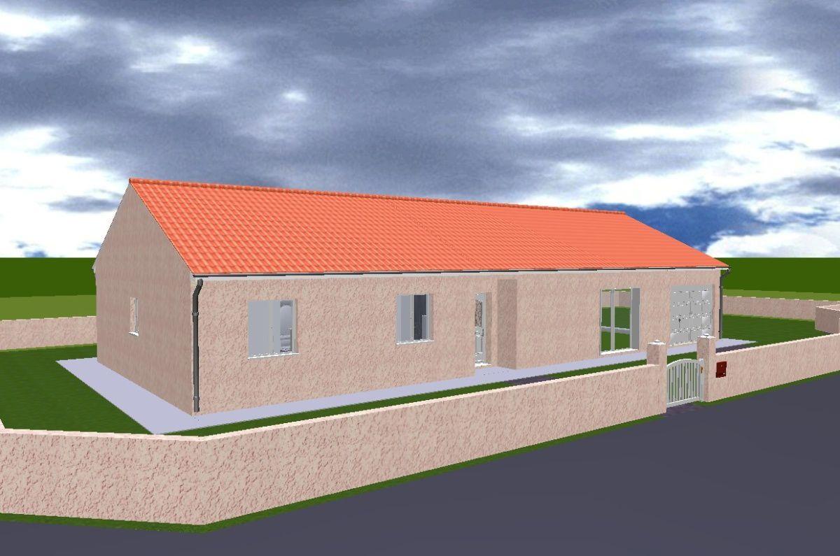 le projet en 3d construction de notre maison. Black Bedroom Furniture Sets. Home Design Ideas