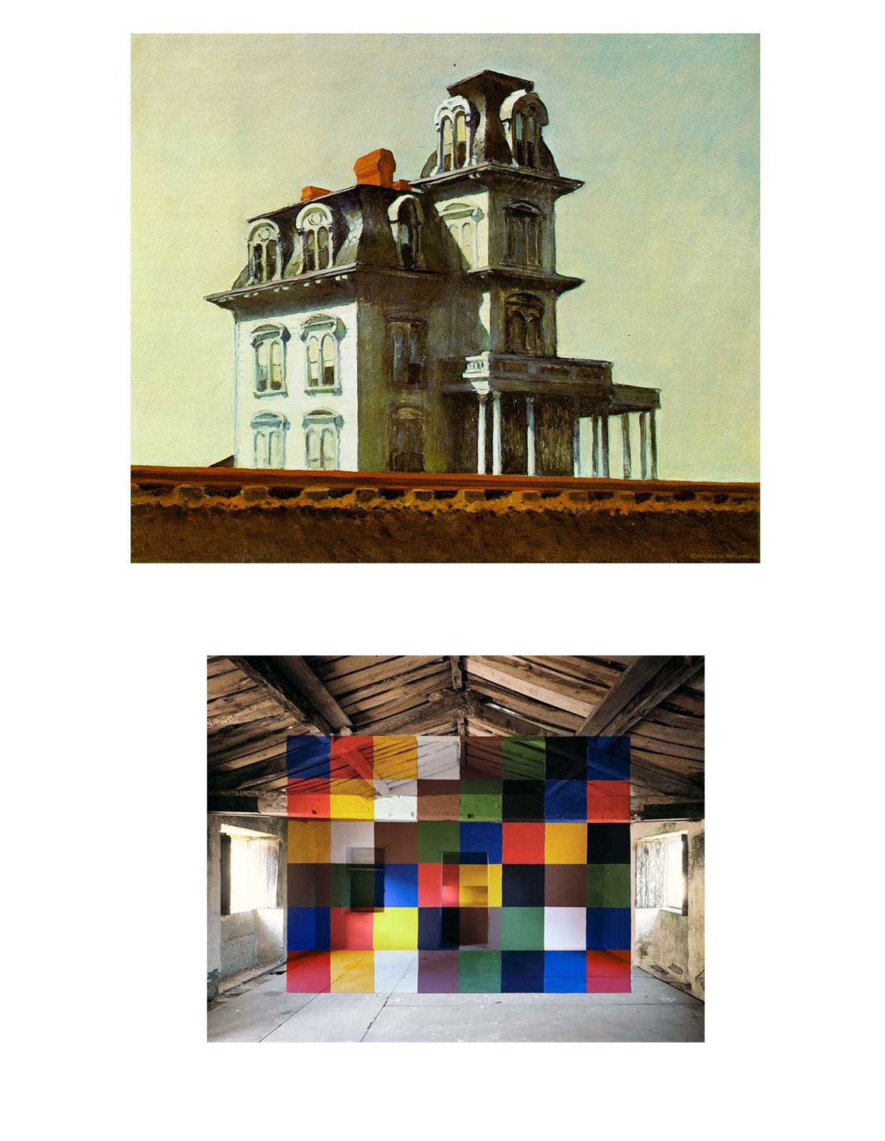 Le blog de martin singer mes cours l 39 cole d 39 art du calaisis - Edward hopper maison ...
