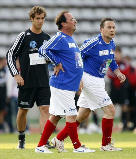 francois hollande foot