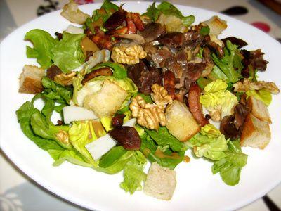 Salade p rigourdine - Cuisine du terroir definition ...
