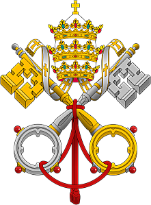 442px-Emblem of the Papacy SE svg