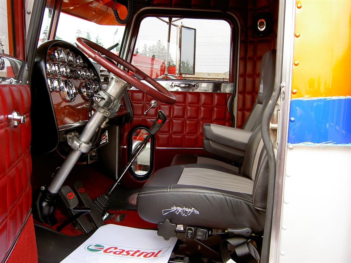 Album tuning truck dream truck for Camion americain interieur