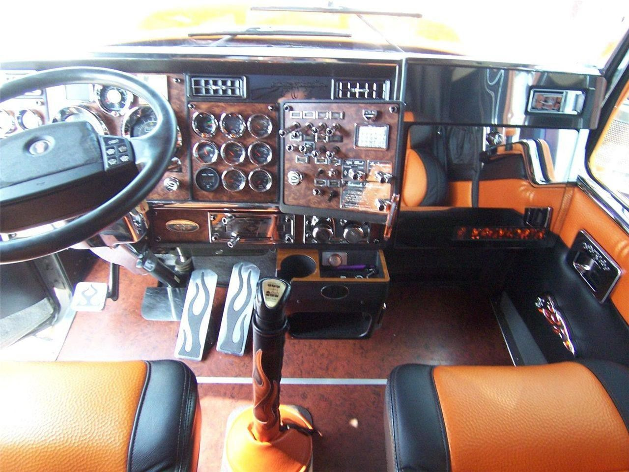 Kenworth w900 dream truck for Camion americain interieur cabine
