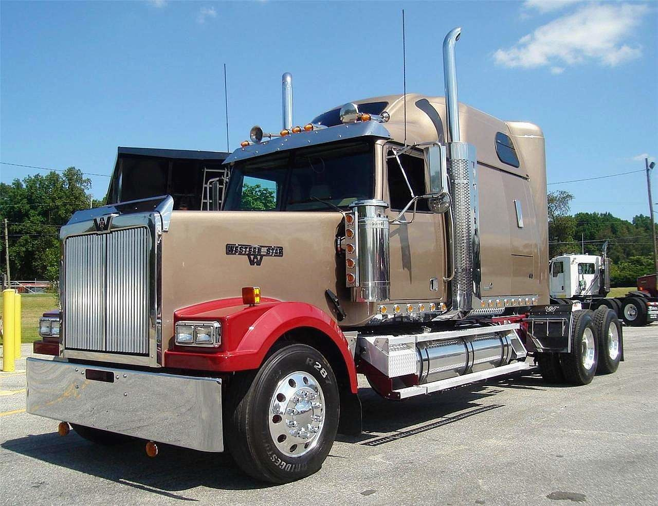 Classic truck dream truck for Interieur western star