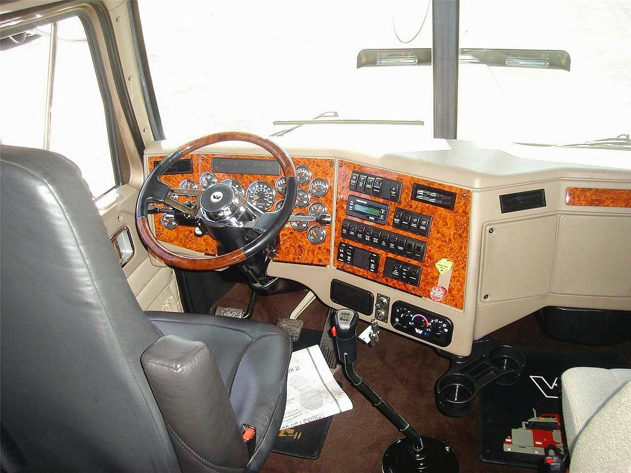 western star dream truck On interieur western star