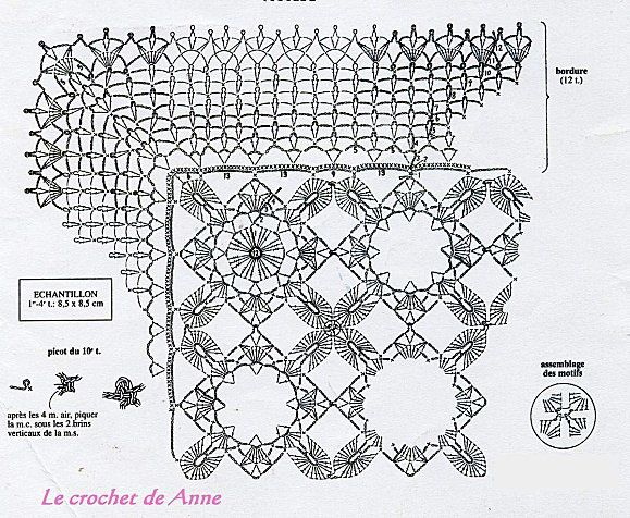 coussin-ruban grille